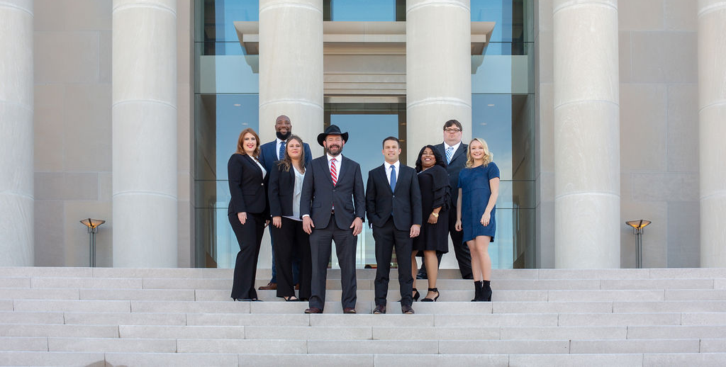 Pepper & Odom Law Firm team photo