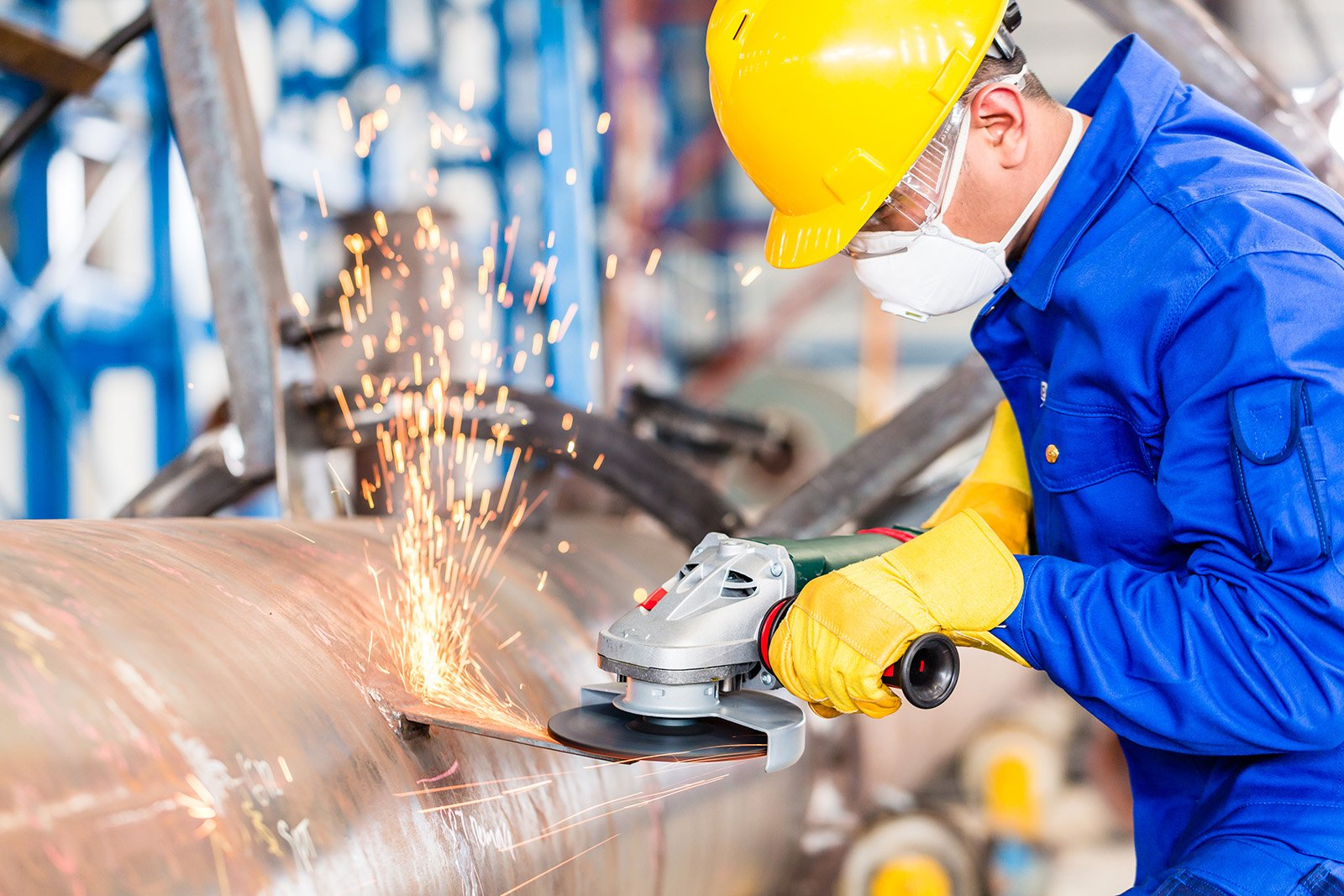 Product Liability practice - Factory Worker slide