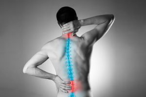 neck and back pain after a car wreck